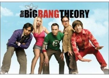 Big Bang Theory Cast Maxi Poster. NEW. Sheldon, Leonard Penny